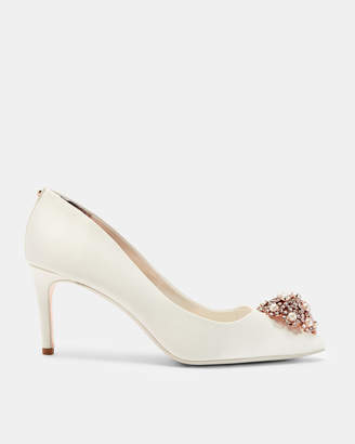 Ted Baker DAHRLIN Brooch detail low heel courts