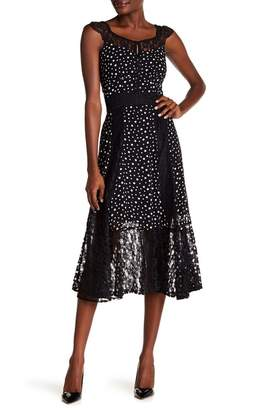 Nanette Lepore NANETTE Cap Sleeve Printed Dress