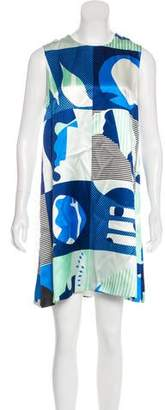 Novis Printed Silk Dress