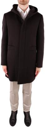 Tagliatore Virgin Wool And Cashmere Coat