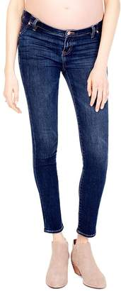 Ingrid & Isabel Maternity Sasha Skinny Jeans in Faded Indigo
