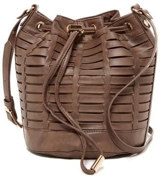 Steve Madden Leanna Horizon Bucket Bag $88 thestylecure.com