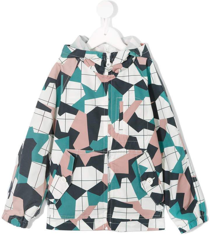 Arch & Line geometric lightweight jacket