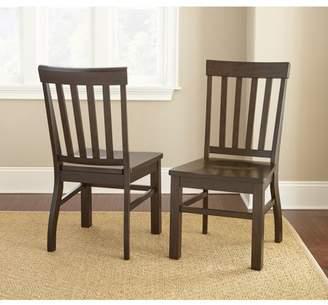 Steve Silver Cayla Dark Oak Side Chair - set of 2