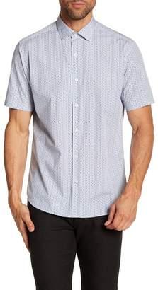 Robert Barakett Esterel Short Sleeve Woven Shirt