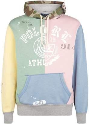Polo Ralph Lauren Patchwork Logo Hoodie