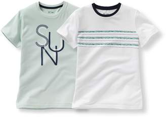 La Redoute Collections Pack of 2 T-Shirts, 10-16 Years