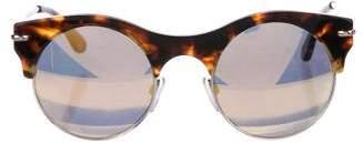 Roland Mouret Max Tortoiseshell Sunglasses