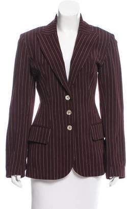 Plein Sud Jeans Striped Wool Blazer