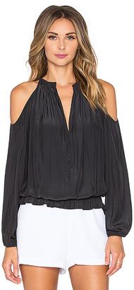 RAMY BROOK Lauren Top in Black $295 thestylecure.com