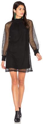 Ella Moss Nikkita Shift Dress in Black $248 thestylecure.com