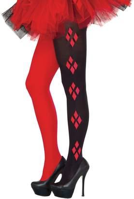 Rubie's Costume Co Costume Women's DC Comics Harley Quinn Tights