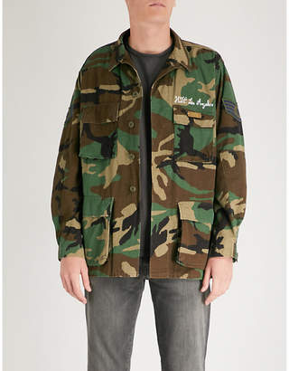 Hollywood Trading Company Wings camouflage cotton-drill jacket