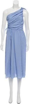 A.L.C. Cabrera Midi Stripe Dress w/ Tags