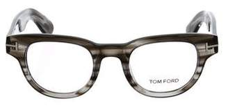 Tom Ford Lucite Round Eyeglasses