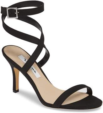 29b4f9e1f6fa0e Nina Black Women s Sandals - ShopStyle