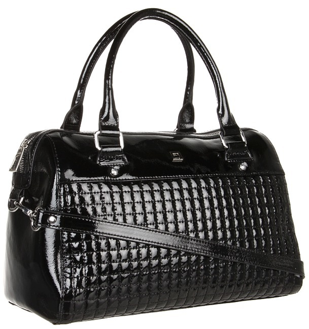 Lodis Beverly Blvd Camille Satchel (Black) - Bags and Luggage