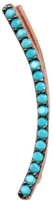 Wild Hearts - Turquoise Curved Trail Ear Cuff