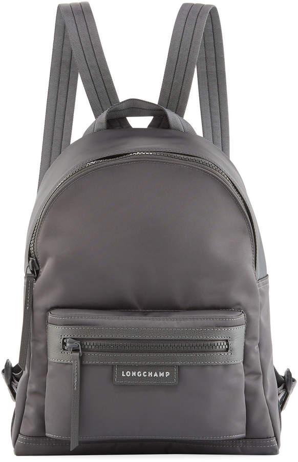Longchamp Le Pliage Small Nylon Backpack - GRAY - STYLE
