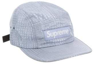 Supreme 2017 Metallic Check Camp Cap