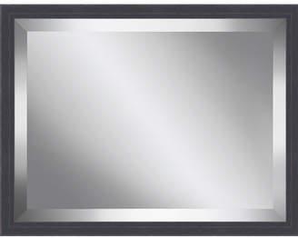 Ashton Wall Dcor LLC Wood Framed Beveled Plate Glass Mirror