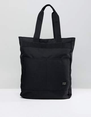 Jack and Jones Black Tote Backpack