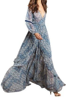 MISA - Women's Tula Dress - Parisienne Blue $304 thestylecure.com