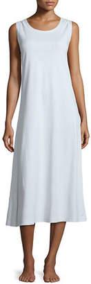 P Jamas Butterknit Scoop-Neck Tank Gown