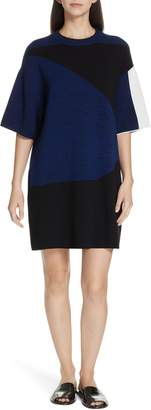 Proenza Schouler PSWL Colorblock Jacquard Shift Dress
