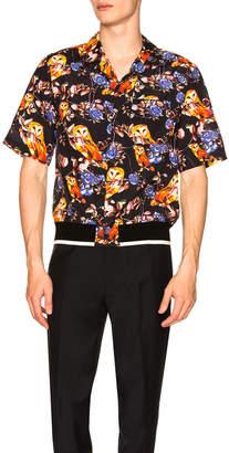 3.1 Phillip Lim Souvenir Surreal Animal Print Shirt
