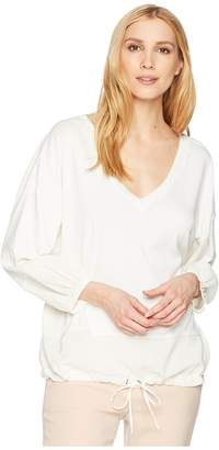 Splendid V-Neck Blousant Top Women's Blouse