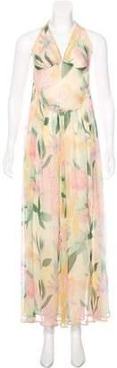 Missoni Silk Halterneck Dress