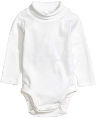 H&M Turtleneck Bodysuit - White