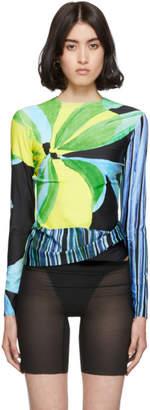 Louisa Ballou SSENSE Exclusive Multicolor Panel Long Sleeve T-Shirt
