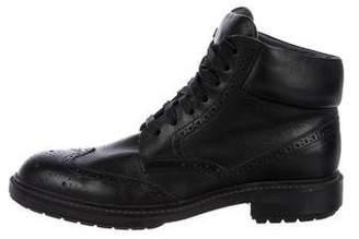 Alejandro Ingelmo Leather Brogue Boots