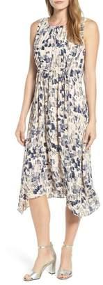 Nic+Zoe Petal or Nothing Handkerchief Hem Dress