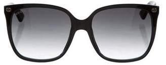 Gucci Square Oversize Sunglasses w/ Tags