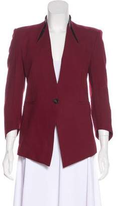 Elizabeth and James Structured Single-Button Jacket