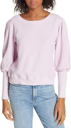 Apiece Apart Olimpio Puff Sleeve Sweatshirt