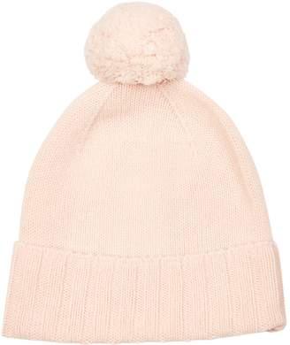 Harrods Cashmere Pom Pom Hat