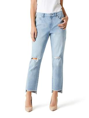 Jeanswest Goldie High Waisted Relaxed Fit Jean-80s Blue-10