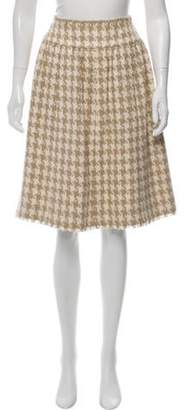 Chanel Silk Tweed Skirt beige Silk Tweed Skirt