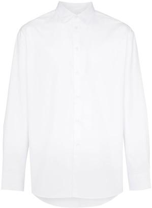 Kenzo logo print long-sleeve shirt