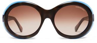 Oliver Goldsmith Sunglasses Audrey 1963 Tortoise Halo
