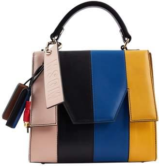 MSGM Multicolour Leather Handbag