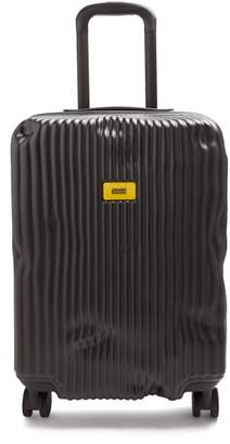 Crash Baggage - Stripe 55cm Cabin Suitcase - Womens - Black