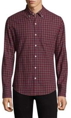 Bonobos Plaid Cotton Button-Down Shirt