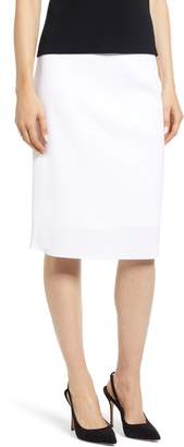Ming Wang Pencil Sweater Skirt