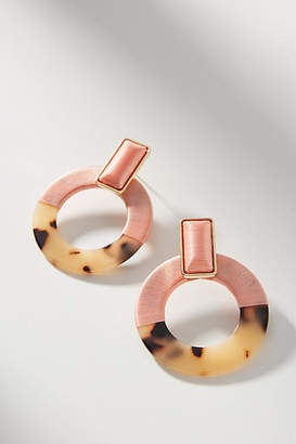 BaubleBar Emelda Hooped Post Earrings