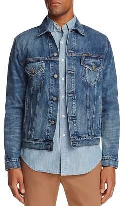 Polo Ralph Lauren Denim Trucker Jacket $165 thestylecure.com